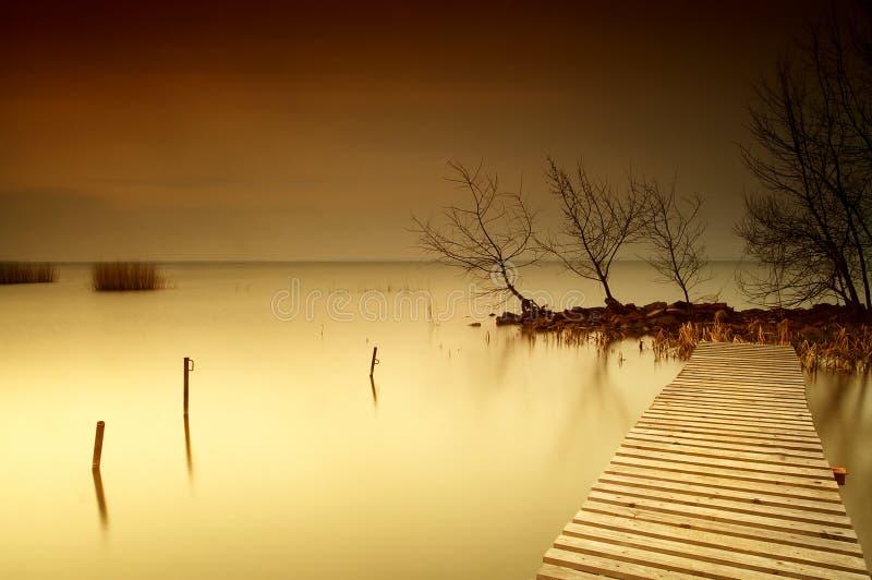 lake balaton zdjęcia stock