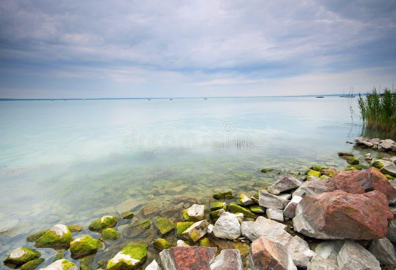 Lake Balaton Hungary royalty free stock image