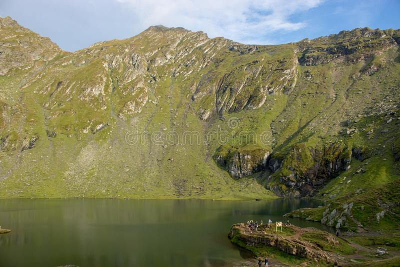 lake balea Romania zdjęcia stock