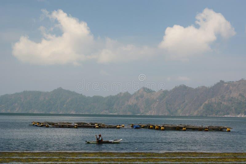 Lake Batur. Kintamani. Bali. Indonesia. Lake Batur is a crater lake in Kintamani, Bali, Bangli Regency of Bali, located about 30 km northeast of Ubud in Bali stock photos