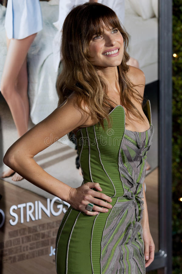 Lake Bell Editorial Stock Photo