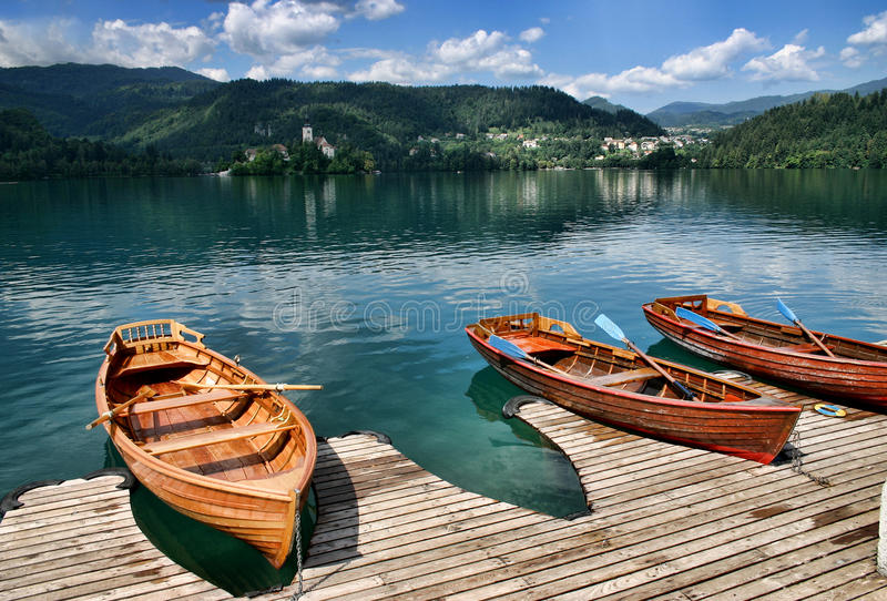 Download Lake Bled, Slovenia stock image. Image of sightseeing - 10255929