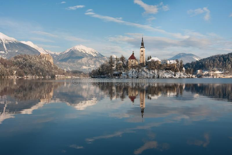 Lake Bled, Slovenia royalty free stock photography