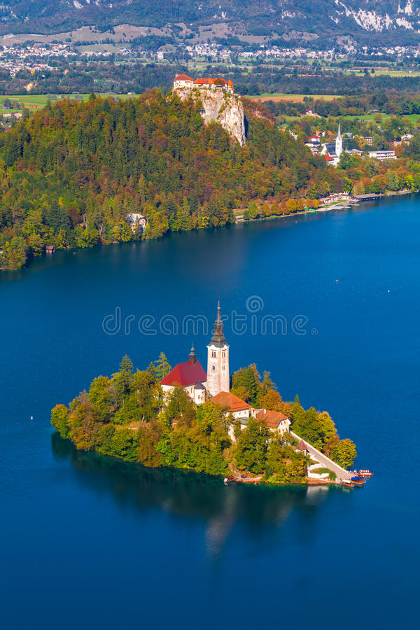 Download Lake Bled, Slovenia stock photo. Image of alpine, karawanken - 37684406