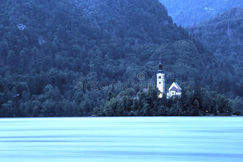 Lake Bled, Slovenia stock photo