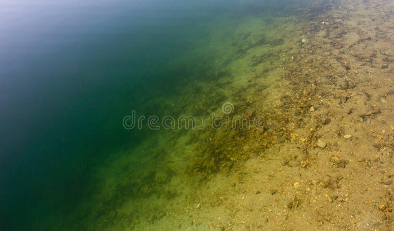Lake bottom descent