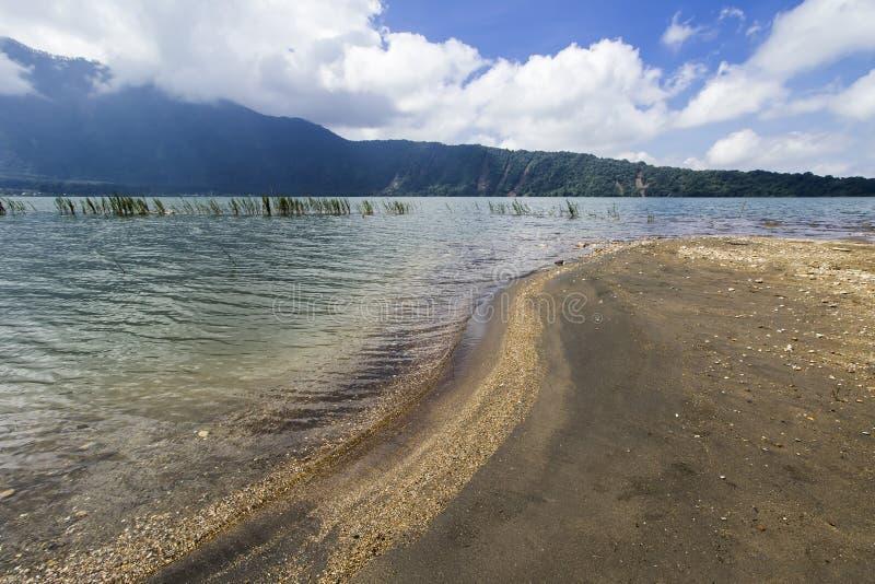 Lake Bratan, Bali stock photography