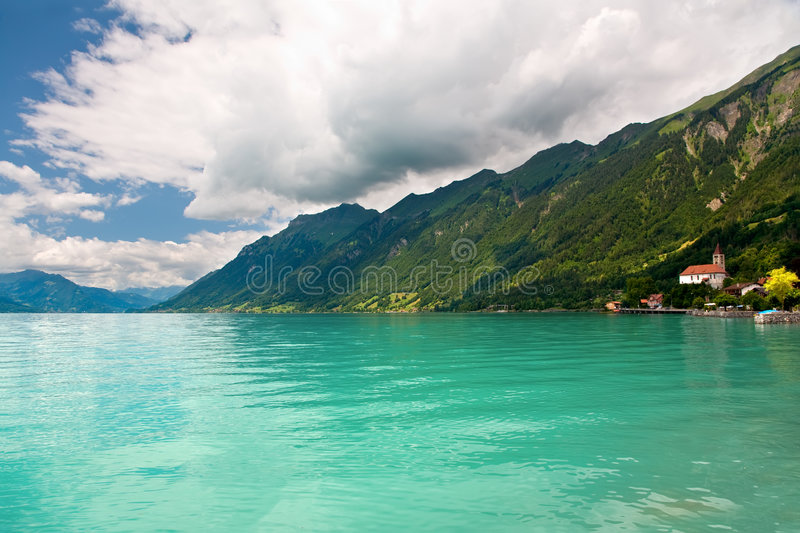 Download Lake Brienz, Berne Canton, Switzerland Stock Photo - Image of alps, nature: 5740880