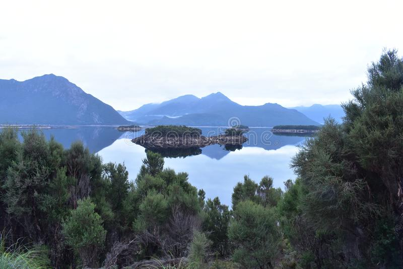 Lake Burbury Tasmania royalty free stock photo