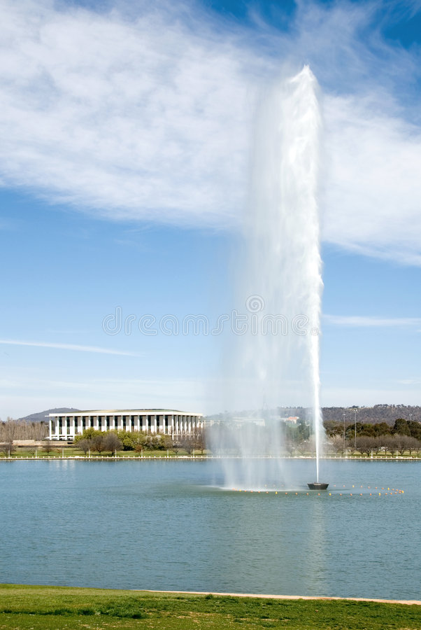 Lake Burley Griffin royalty free stock images