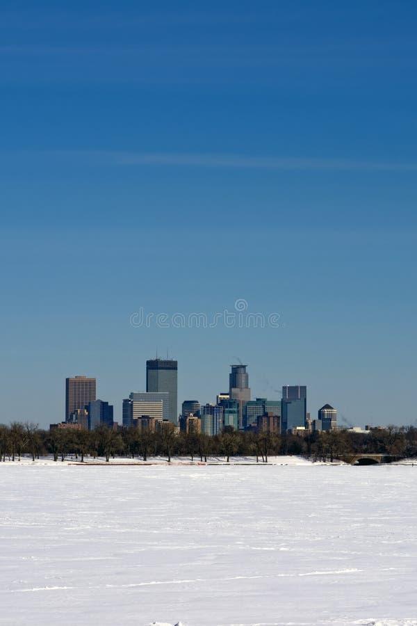 Lake Calhoun, Minneapolis, Minnesota, USA royalty free stock photography