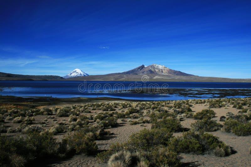 The lake chungara