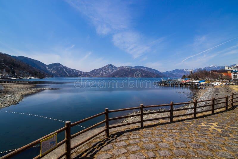 Lake Chuzenji fotografering för bildbyråer