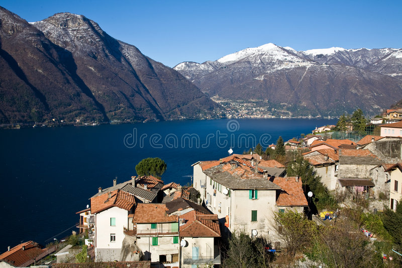 Lake Como royalty free stock photo