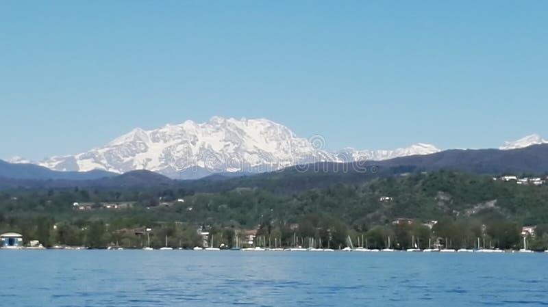 Lake of Como beautiful view stock photos