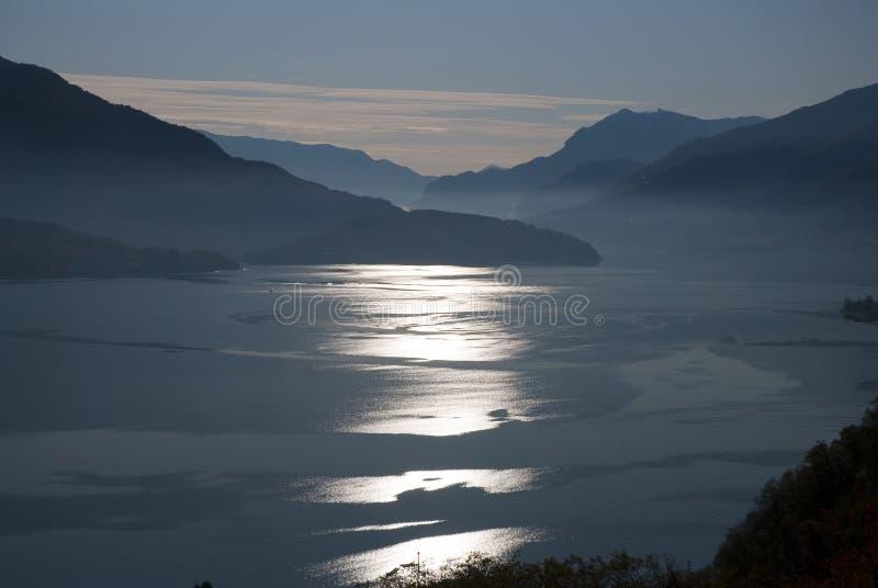 Lake Como - italy stock photo