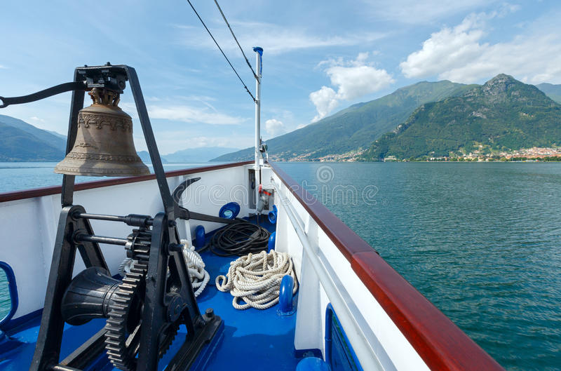 Download Lake Como (Italy) View From Ship Stock Images - Image: 26664464