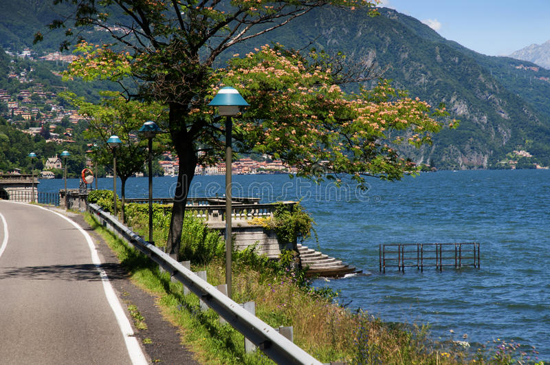 Download Lake Como In Northern Italy Editorial Photography - Image: 83723802