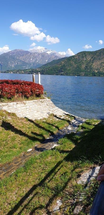 Lake of Como royalty free stock images