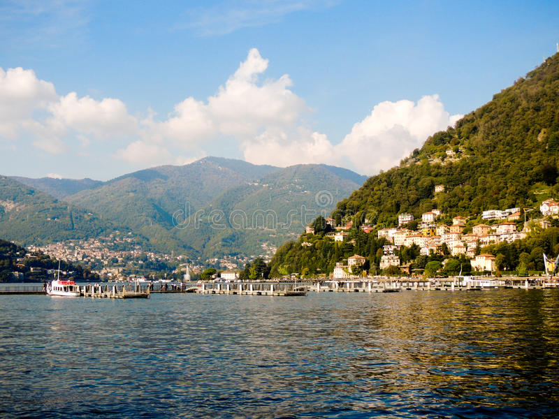 Lake Como stock photography