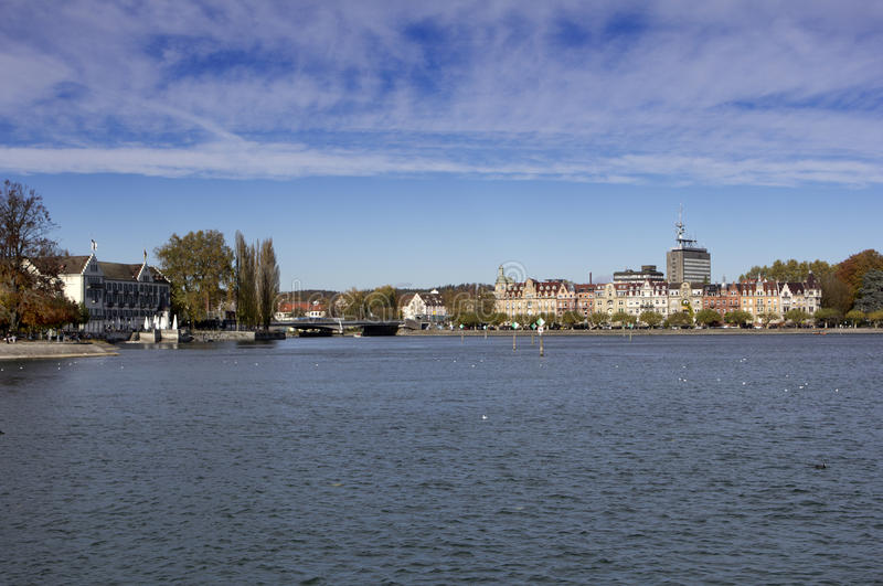 Lake Constance royaltyfria bilder