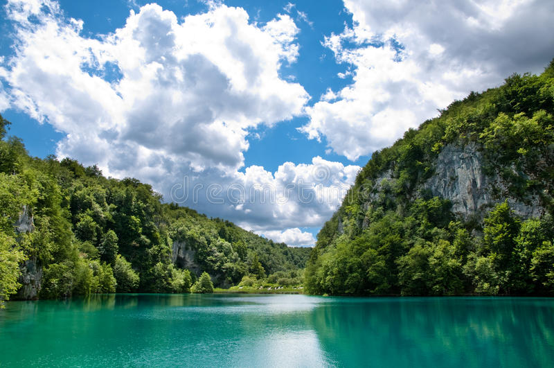 Download The lake in Croatia. stock photo. Image of pure, reserve - 25529734