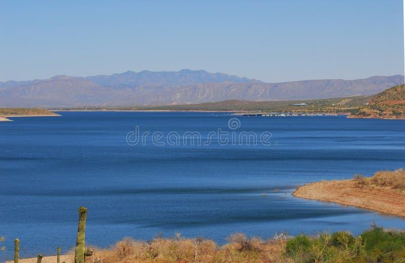 lake desert fotografia royalty free