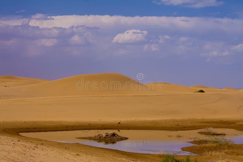Download Lake in desert of china stock image. Image of heritage - 28395917