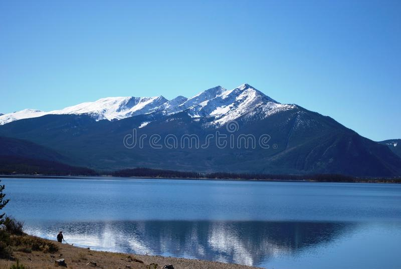 Lake Dillon Colorado stock images