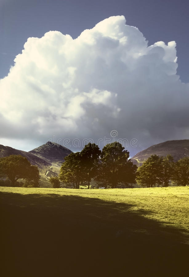 Download Lake district stock image. Image of hills, field, mountains - 23753295