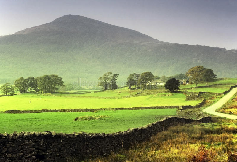 Download Lake district stock image. Image of dunnerdale, national - 23753379