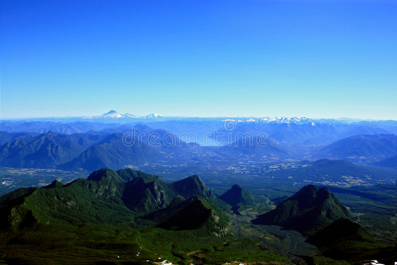 Download Lake District in Chile stock image. Image of landscape - 6708879