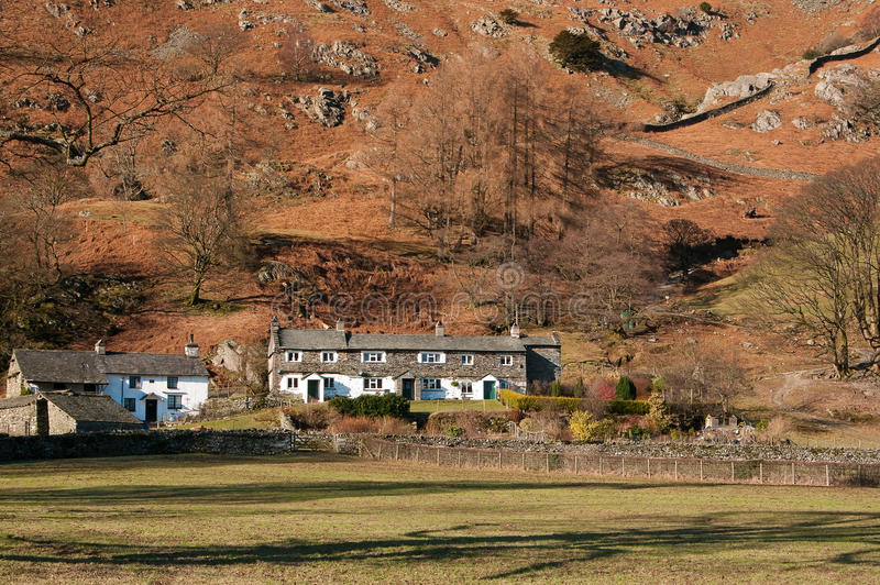Download Lake District Cottages stock image. Image of england - 12846111