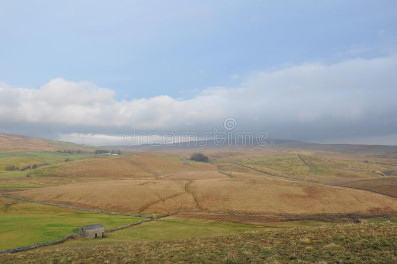 Rural Cumbria The lake district England stock photography