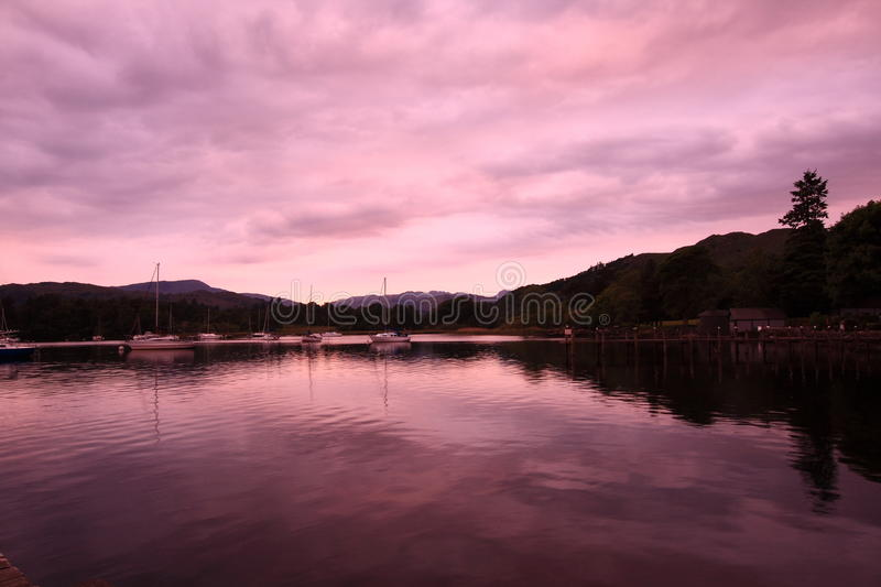 Download Lake District In The Evening Stock Photo - Image: 14858246