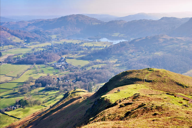 Download Lake District landscape stock photo. Image of outside - 19175366