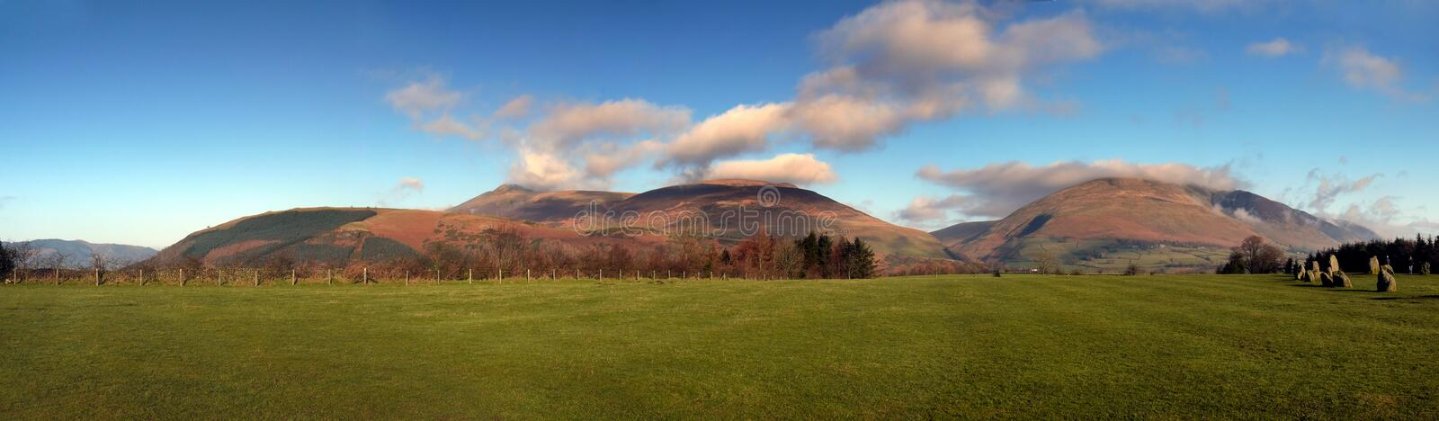 Lake District Mountains Royalty Free Stock Photography