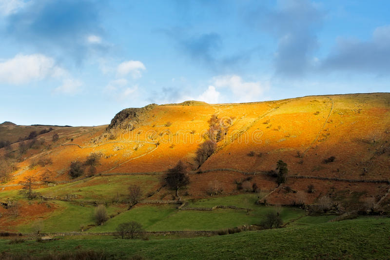 Lake District Scenery royalty free stock image