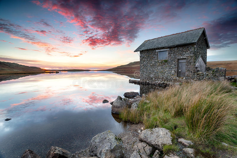 Lake District Sunset royalty free stock photography