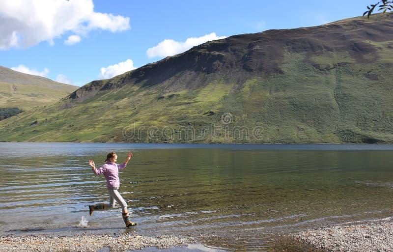 Lake District, UK, England stock image