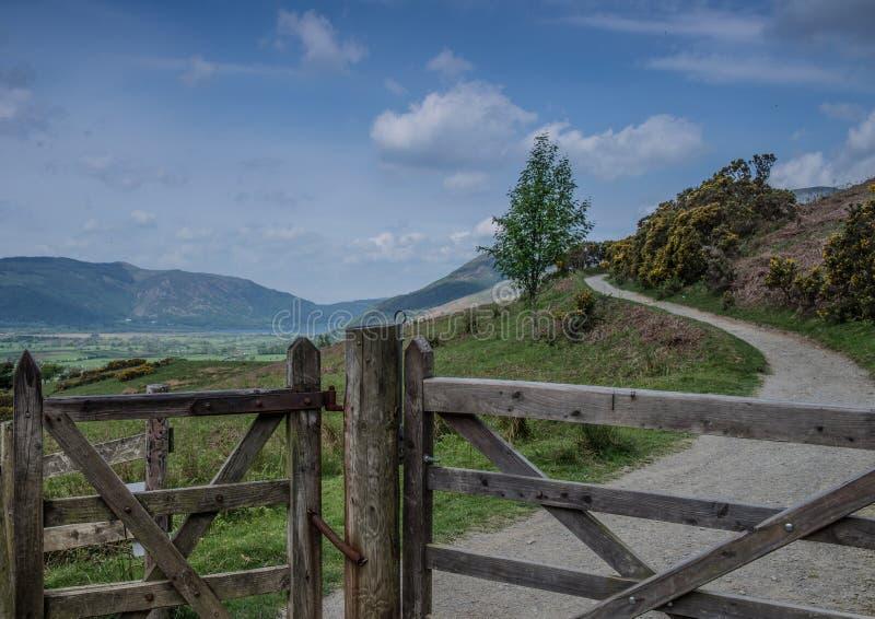 Lake District Walk royalty free stock images