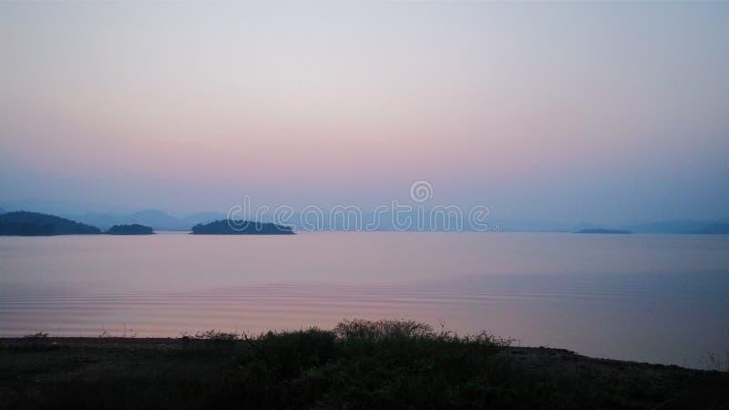 Lake of dream stock image