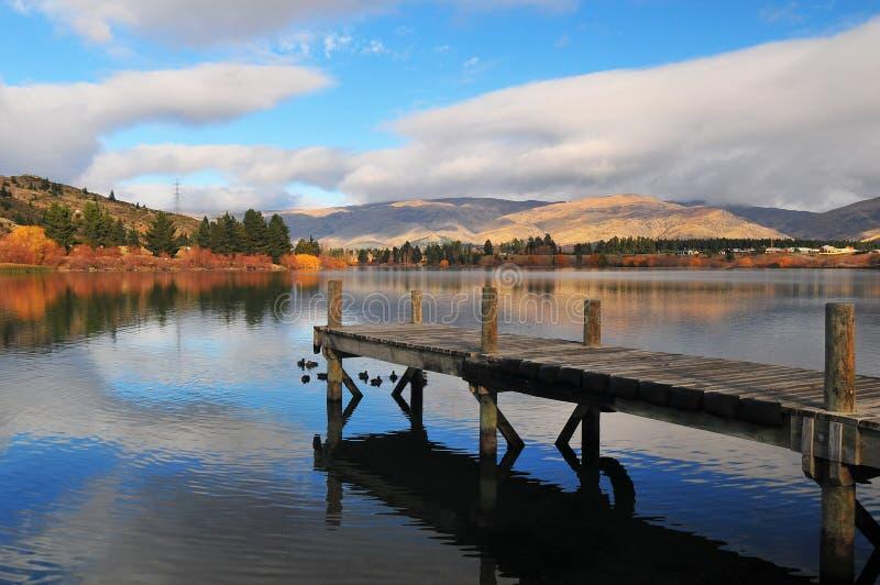 Lake Dunstan stock photography