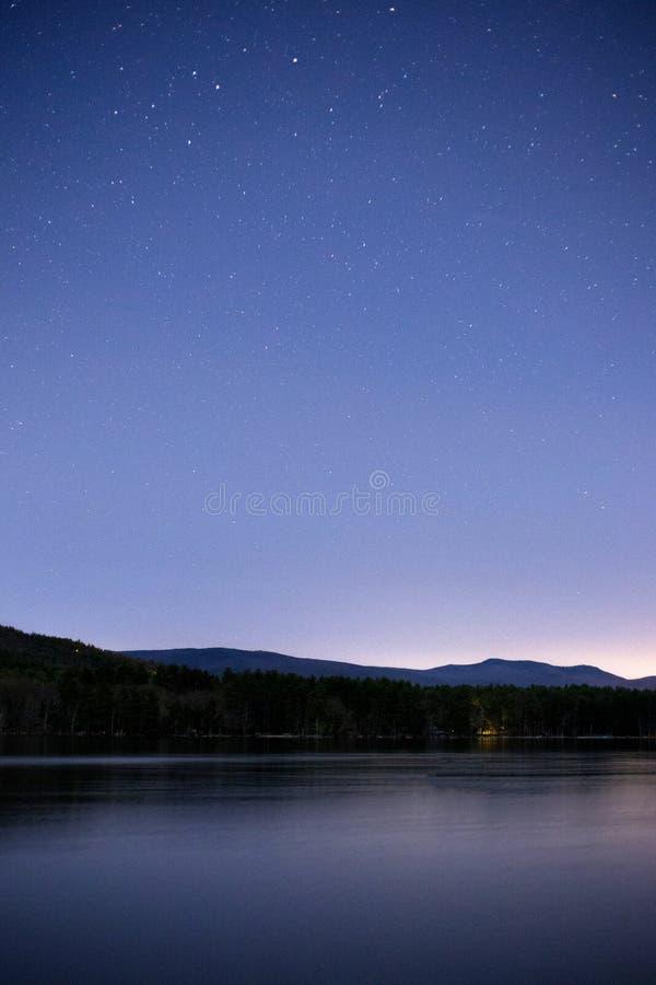 Lake At Dusk royalty free stock photography