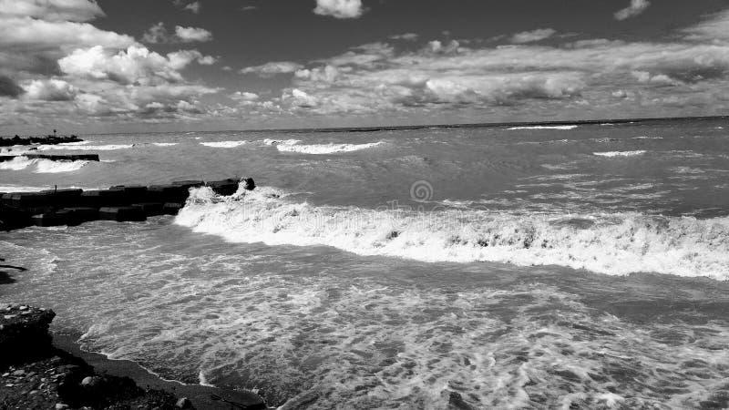 Lake Erie стоковое фото rf