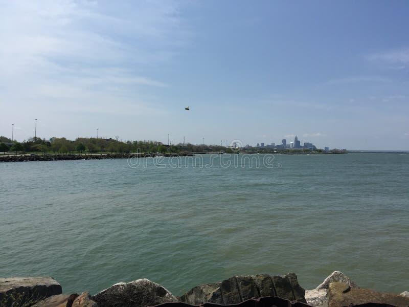 Lake Erie royaltyfri foto