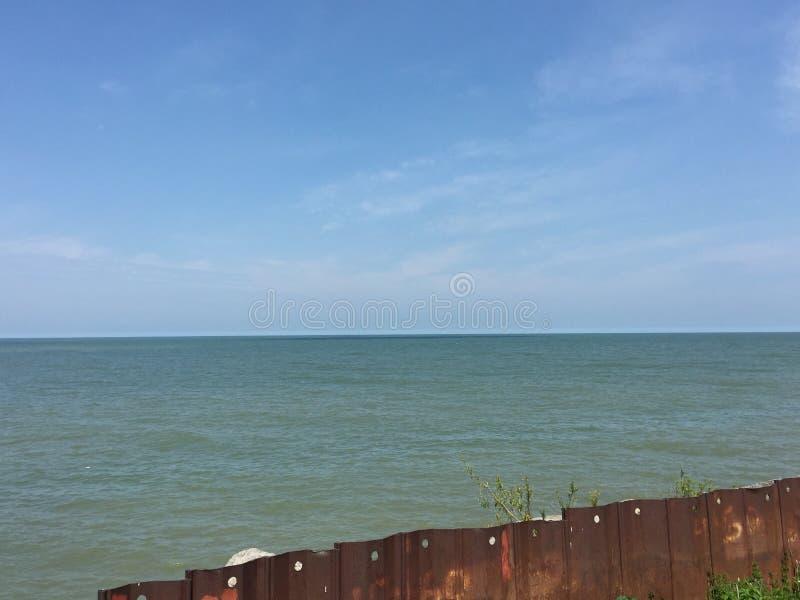 Lake Erie royaltyfria bilder