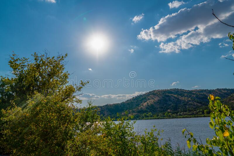 Lake Eymir in Ankara, Turkey royalty free stock photography