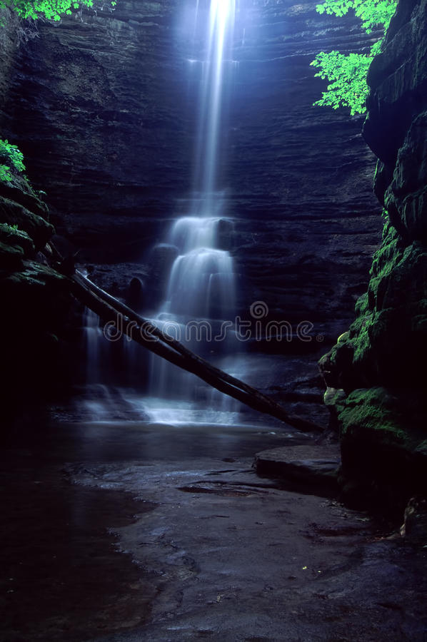 Download Lake Falls At Matthiessen State Park Stock Photo - Image of rock, current: 23492514