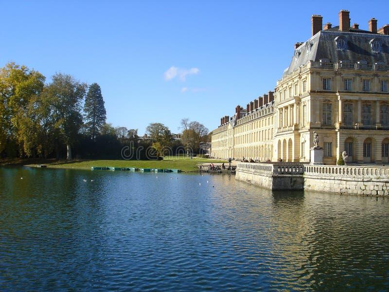 Lake of Fontainebleau stock image
